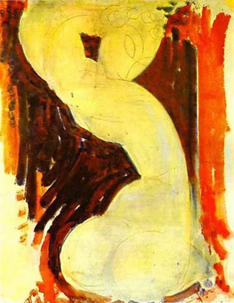 caryatid 1913 14 XX private collection